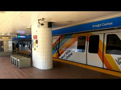 Miami Metromover - Knight Center Station (8.14.17)