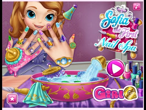 Disney Princess Sofia Makeover-Girls Games-Dress Up Games