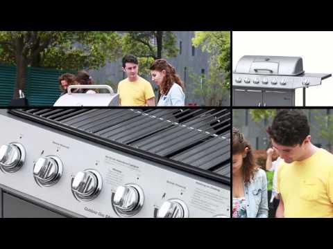 Jago Gasgrill Test : Bbq barbecue gasgrill 6 1 6 hauptbrenner schwarz silber de at ch