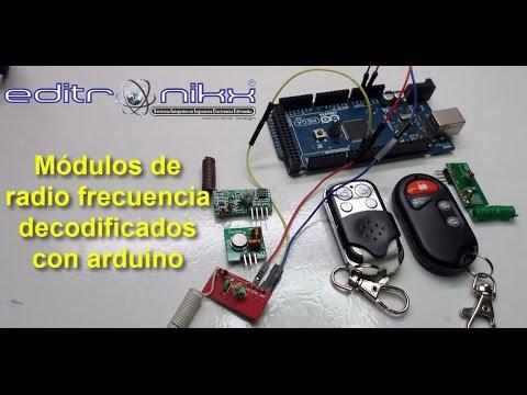 580d4c1d7 Módulos de radio frecuencia decodificados con arduino - YouTube
