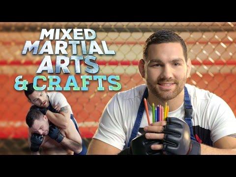 """""""Mixed Martial Arts & Crafts"""" with UFC Champ Chris Weidman"""