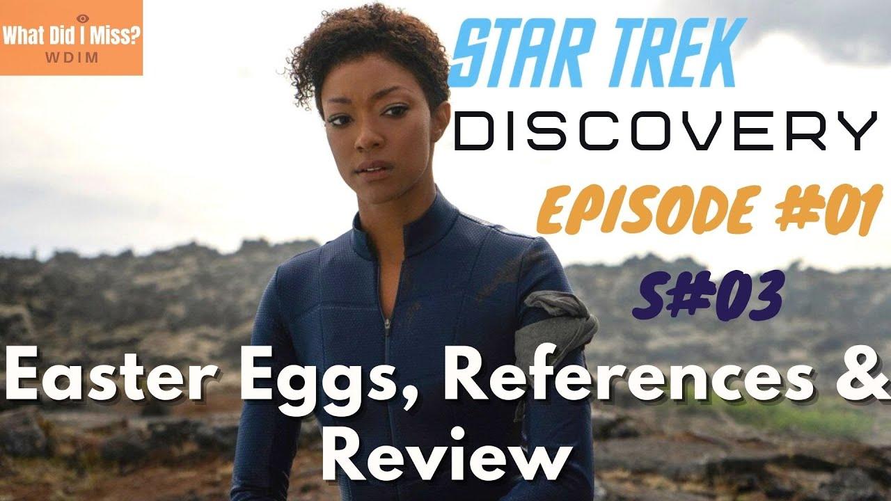 Download Star Trek: Discovery Season 3 Episode 1 - Easter Eggs, Breakdown & Review