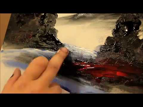 Finger Painting with artist Tyrone Elliott