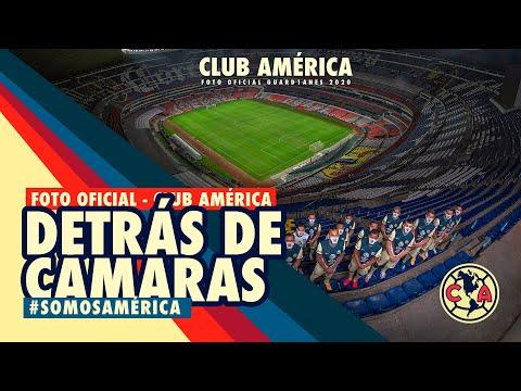 Detrás de cámaras Foto Oficial | Club América GUARD1ANES 2020