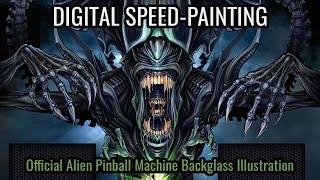 Alien Pinball Brian Allen