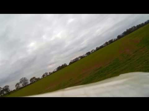 Swift Wing Onboard video at wash field