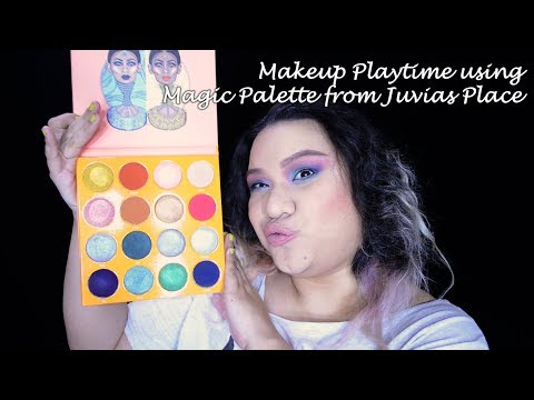 Makeup Playtime with Juvia's Place Magic Palette