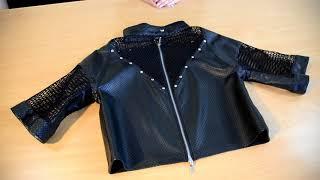 Обзор куртка двусторонняя. Куртка в наличии, можно купить.