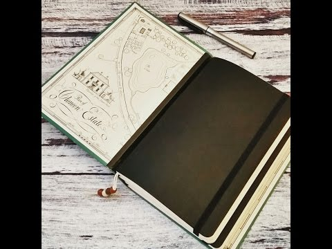 Easy Moleskine Journal With Vintage Book Cover