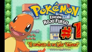 """[GUÍA] Pokemon Rojo Fuego & Verde Hoja E1: """"El comienzo de un Líder Pokémon"""" l UnParDeMonos"""