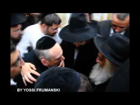 Rosh Yeshiva of Brisk visit Rachel's Tomb ראש ישיבת בריסק בביקור בקבר רחל