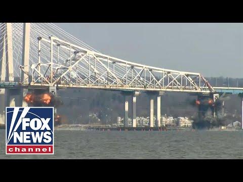 Local News - WATCH: Tappan Zee Bridge Comes Crashing Down In Demo