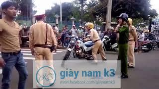 cảnh sát giao thông sốc khi gặp thank niên