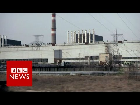 The tourists visiting Chernobyl - BBC News