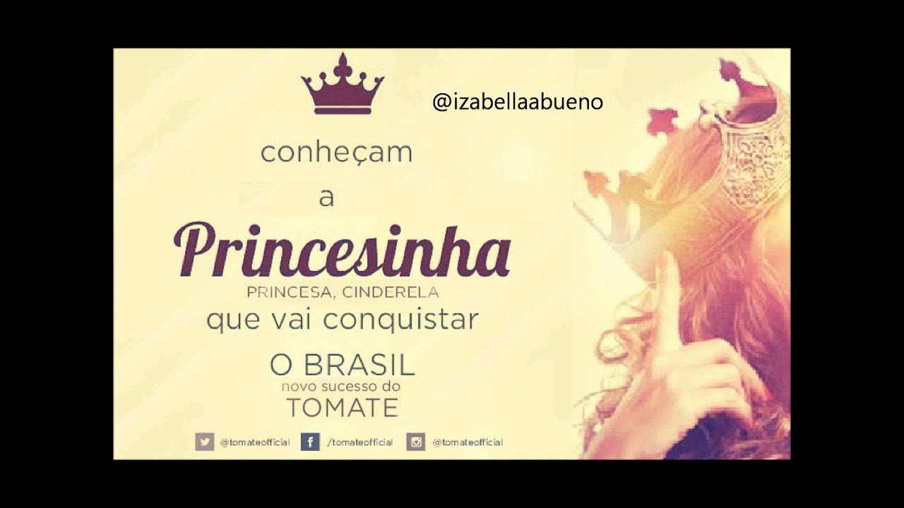 musica tomate princesa princesinha cinderela