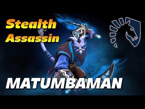 MATUMBAMAN Riki Stealth Assassin   Dota 2 Pro Gameplay
