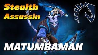 MATUMBAMAN Riki Stealth Assassin | Dota 2 Pro Gameplay