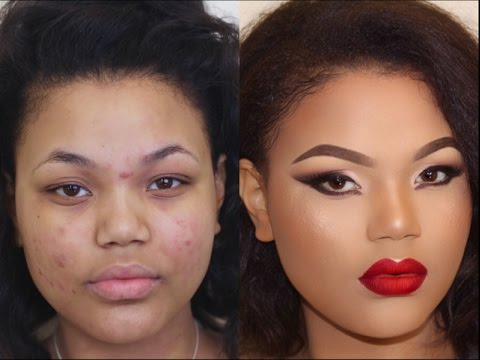Total Holiday Glamformation | Makeup Transformation 6 •| Poised by Suliat