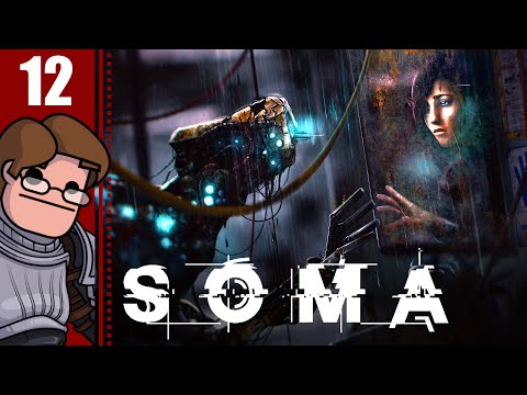 Let's Play SOMA Part 12 - Theta Living Quarters
