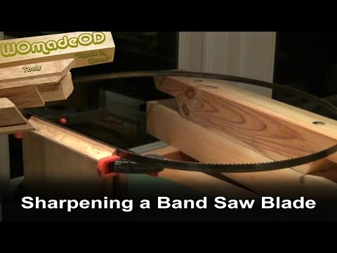 Sharpening Band Saw Blades By Hand Easy Doovi