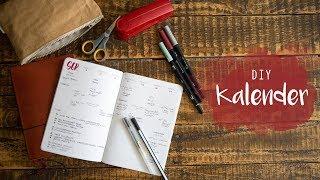 DIY Kalender - selbst ausdrucken & verschönern