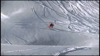 Markus Eder - Backcountry Slopestyle run 1 - Swatch Skiers Cup 2013