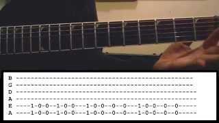 The Devil in I - Slipknot-  Guitar Lesson