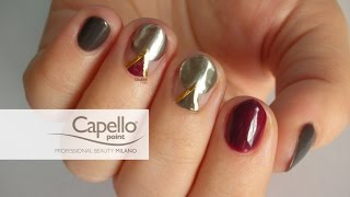 Nail Art - Tutorial 199 - Sweet silver con Capello Point