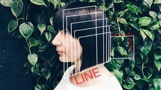 long bob women's haircut tutorial for thick hair