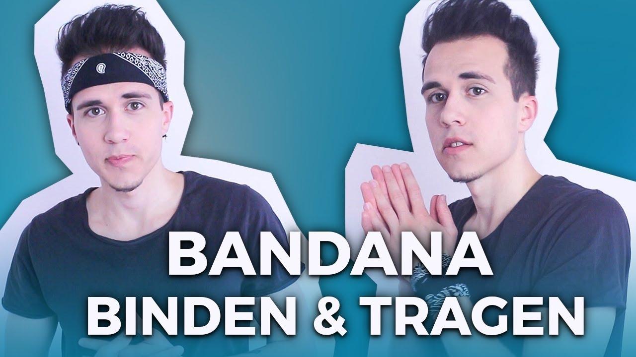 Bandana Binden Verschiedene Arten Zu Tragen Youtube