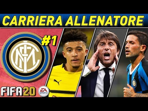 COSTRUIAMO L' INTER DI CONTE! [#1] FIFA 20 Carriera Allenatore INTER ★ ULTIMATE