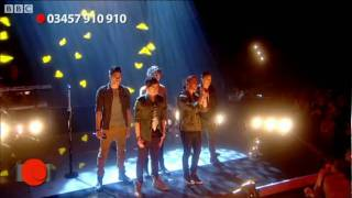 "The Wanted perform ""Gold Forever"" - Red Nose Day 2011 - BBC Comic Relief Night"