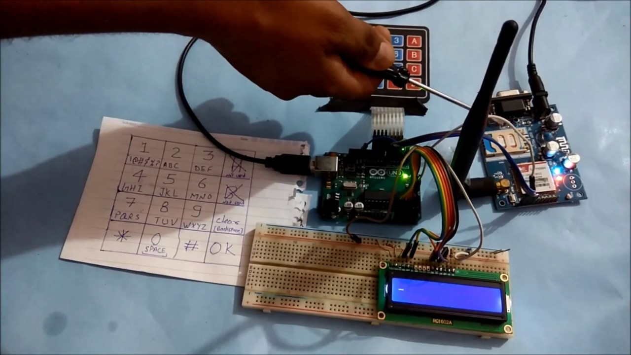 How to send data to Sparkfun server using GSM/GPRS Module and Arduino