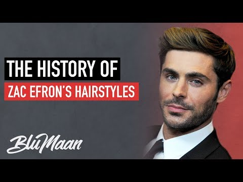 Zac Efron Hairstyles: From WORST To BEST   Mens Hairstyle Advice