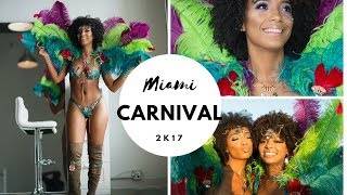MIAMI CARNIVAL VLOG - A Day in The Life of A Jamaican Carnival Queen | CassidyJrdn