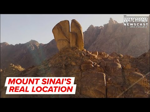 Is The Real Mount Sinai Located In Saudi Arabia? | The Watchman With Erick Stakelbeck