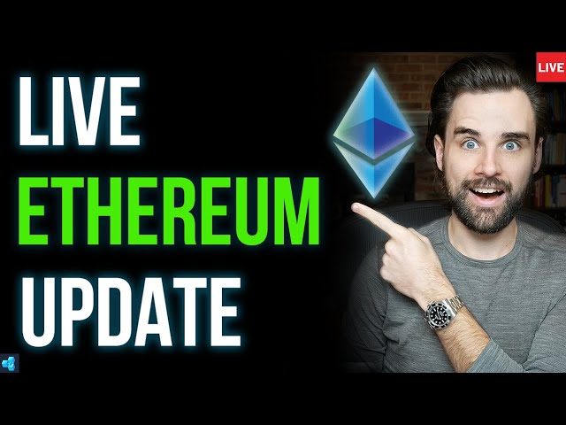 🔴LIVE: Will Ethereum Go Back Up? Scaling Updates & More.