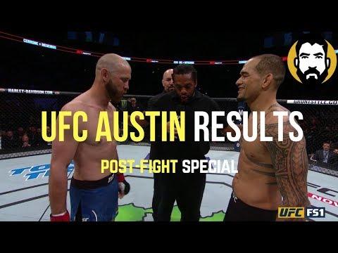 UFC Austin Results: Donald 'Cowboy' Cerrone vs. Yancy Medeiros | Post-Fight Special | Luke Thomas
