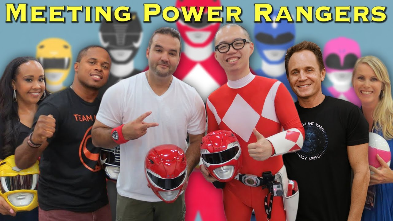 Meeting REAL Power Rangers [Chris Cantada Force]