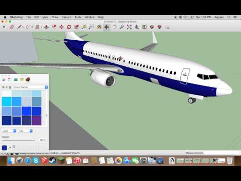 Sketchup Livery Tutorial