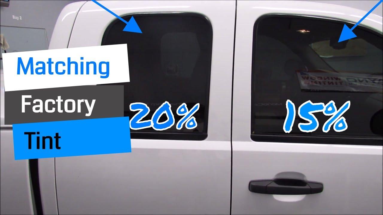 20 Percent Tint >> Matching Factory TINT! (15%) - YouTube