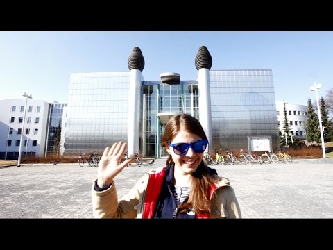 University Of Tampere - A Quick Tour Around The Main Campus