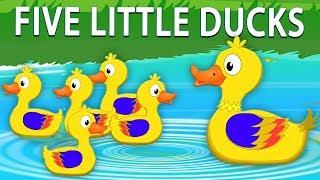 lima bebek kecil   puisi indonesia anak-anak   Lagu Anak   Five Little Ducks   Kids Tv Indonesia