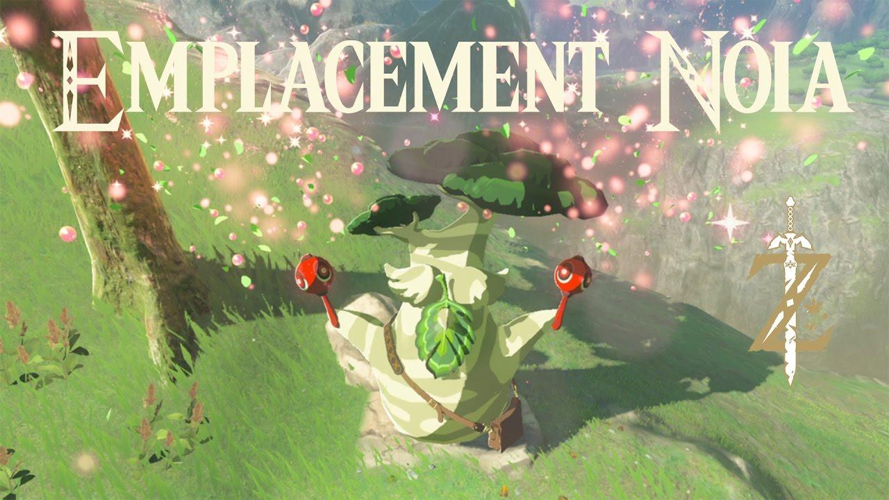 Astuce Zelda Breath of the Wild : emplacement Noïa n°2