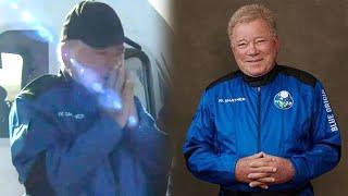 William Shatner in TEARS After Blue Origin Space Flight