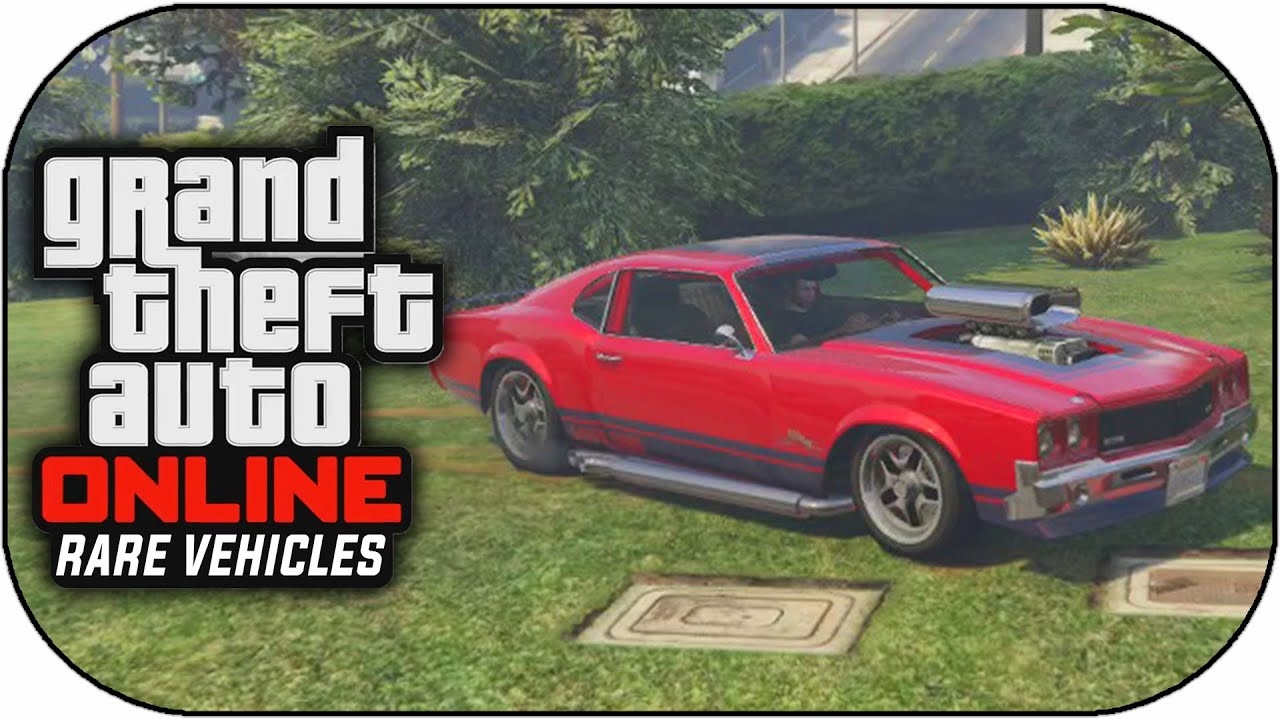 GTA 5 Rare & Secret Cars Online