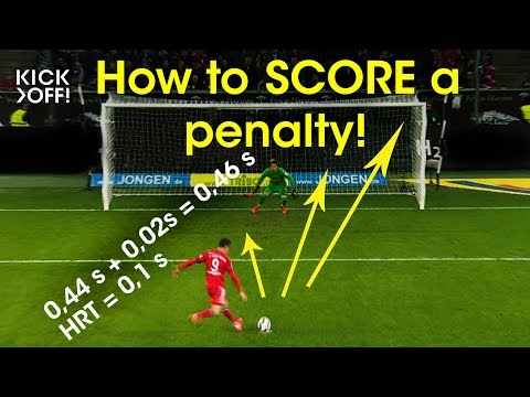 How to SCORE a penalty, Mr. Lewandowski?