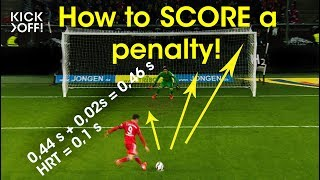 How to SCORE a penalty: formula or feeling?