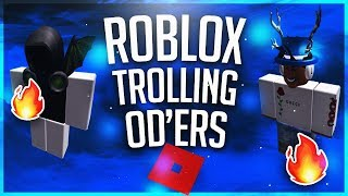 ROBLOX Trolling ODers // With BlackHawkMMX