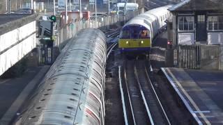 London Underground - Engineering Trains at Ruislip